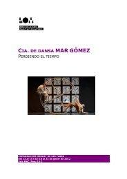 CIA. DE DANSA MAR GÓMEZ - Mercat de les Flors