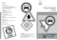 Verkehrssicherheitstag Bühne - Hannelore Kohl Stiftung