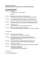 Sicherheitskonferenz 2011 Strategien für Prävention und ...