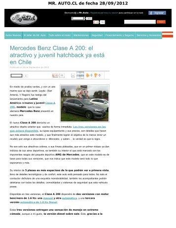 Mercedes Benz Clase A 200 - Salón del Automóvil