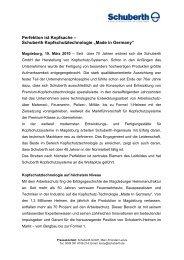 Schuberth-Helme - Hannelore Kohl Stiftung