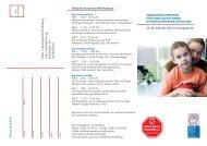 Seminarflyer - Hannelore Kohl Stiftung