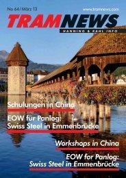 EOW for Panlog: Swiss Steel in Emmenbrücke ... - Hanning & Kahl