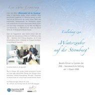 Winterzauber auf dere Stromburg.qxd - Hannelore Kohl Stiftung