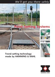 Point-Setting Systems - Hanning & Kahl