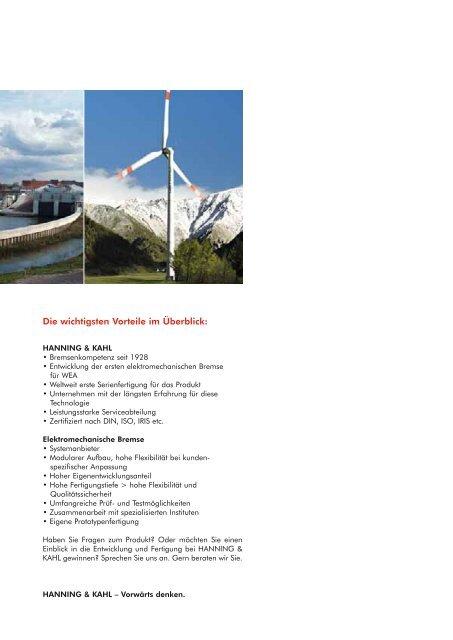 Elektromechanische Bremssysteme für die Industrie