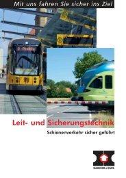 Leit- und Sicherungstechnik - Hanning & Kahl
