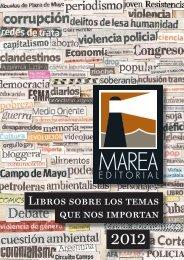Libros sobre los temas que nos importan - Marea Editorial