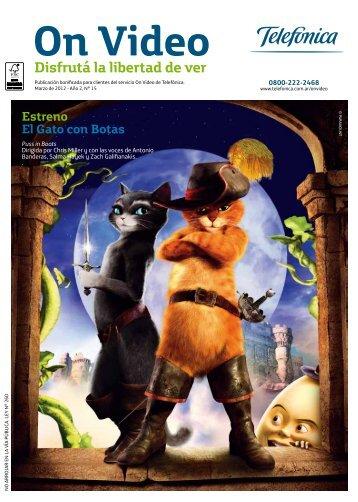 Estreno El Gato con Botas - On Video PC