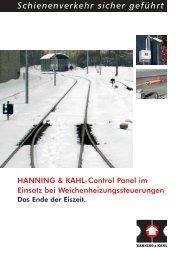 Control Panel beim Einsatz bei ... - Hanning & Kahl