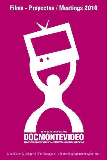 Proyectos Meetings 2010 - DocMontevideo
