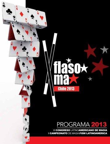 PROGRAMA 2013 - Magicshop.cl
