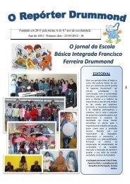 O jornal da Escola Básica Integrada Francisco Ferreira Drummond
