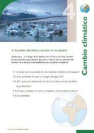 Cambio climático - Año Internacional del Planeta Tierra