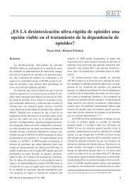 ¿Es la desintoxicación ultra-rápida de opioides ... - CAT Barcelona