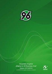 Saison 2013/2014 - Hannover 96