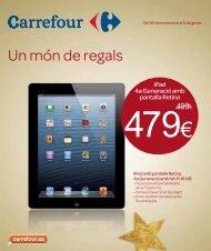 Un món de regals - Carrefour