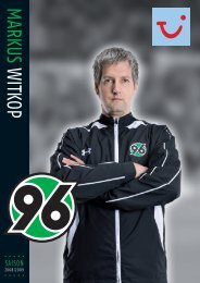 MARKUS WITKOP - Hannover  96