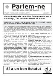 Parlem-ne CiU aconsegueix un millor finançament per a Catalunya ...