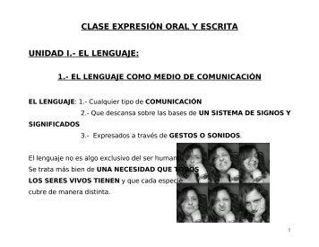 el lenguaje - Universidad Dorados