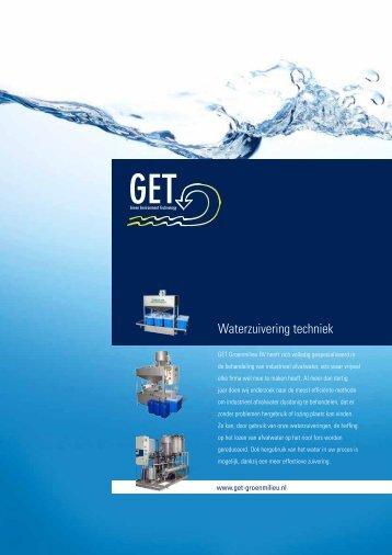 Waterzuivering techniek