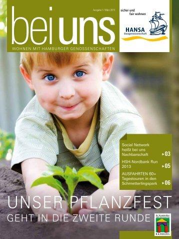 Unser Pflanzfest - HANSA Baugenossenschaft eG