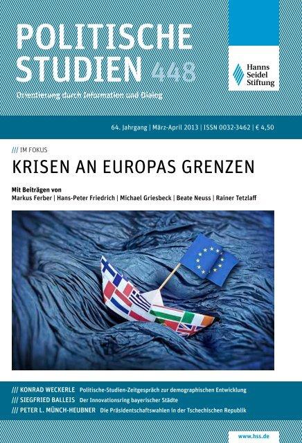 Download der Publikation - Hanns-Seidel-Stiftung