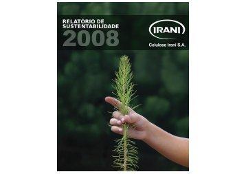 Relatório de Sustentabilidade 2008 da Celulose Irani