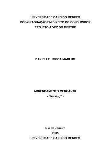 leasing - AVM Faculdade Integrada
