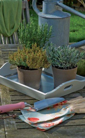 forrar um tabuleiro para vasos de ervas aromáticas - Dremel