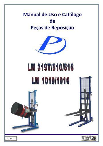 Manual de Operação / Manutenção (Em Linha) - Paletrans