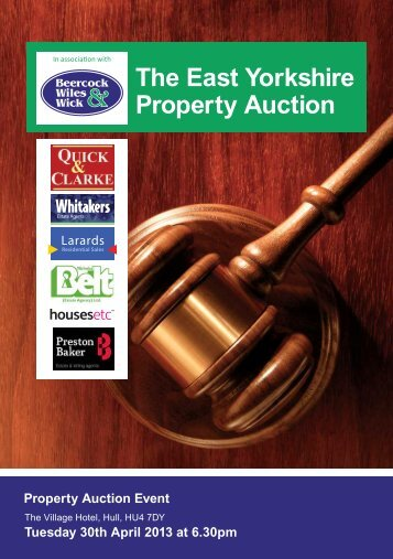 The East Yorkshire Property Auction