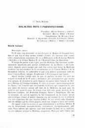 Malalties meta i parainfeccioses - Institut d'Estudis Catalans