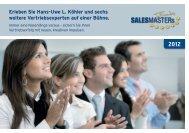 Komplette Broschüre zu SALESMASTERs & Friends 2012 als PDF ...