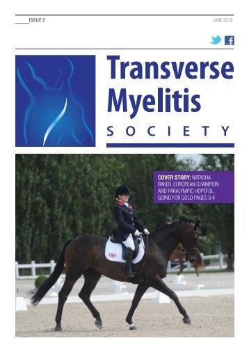 Issue 2 - Transverse Myelitis Society