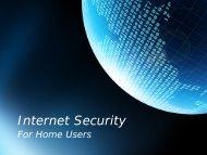 Download the Internet Security presentation