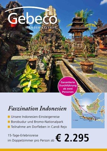 Faszination Indonesien - Hapag-Lloyd Reisebüro Köln