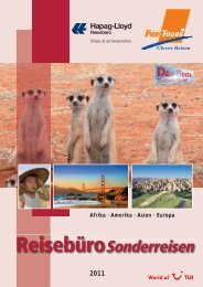 PDF-Katalog! - Hapag-Lloyd Reisebüro
