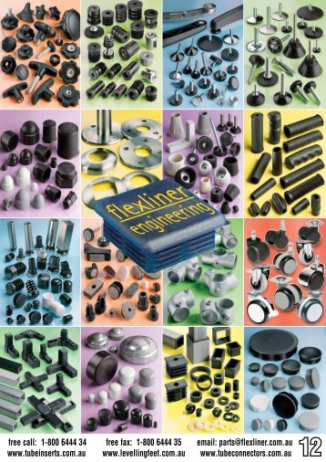 Download Printable Catalogue - Levelling Feet