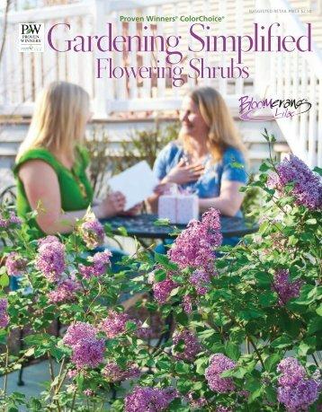 Flowering Shrubs - Proven Winners