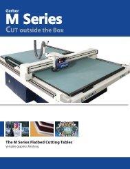 M Series Brochure - Gerber Scientific Products