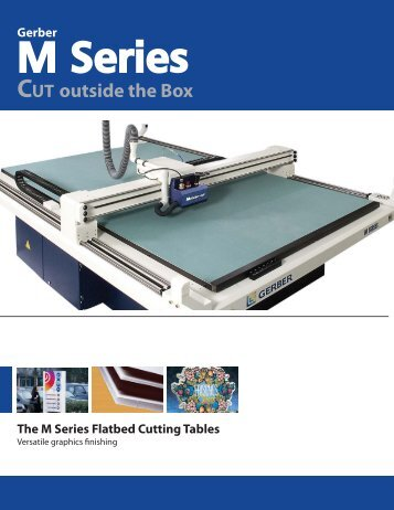 M Series Brochure - Gerber Scientific Products
