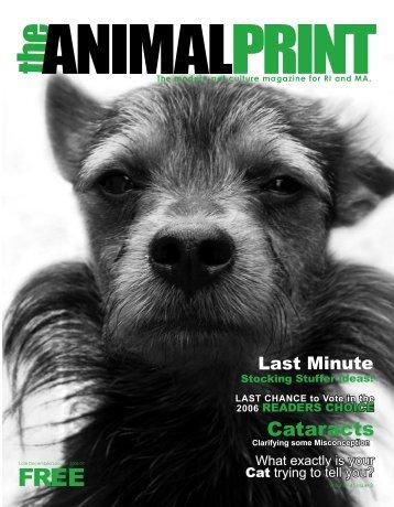 Cataracts - the Animal Print Magazine