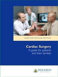 Cardiac Surgery - Johns Hopkins Medical Institutions