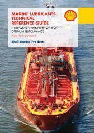 Marine Lubricants technicaL reference Guide - ShipServ