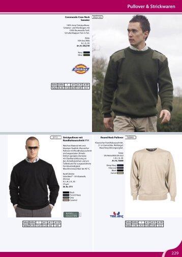 Pullover-Strickwaren