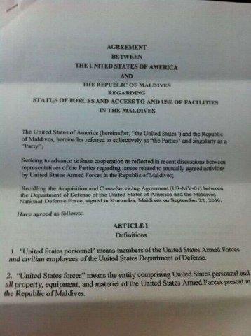 US-Maldives-SOFA-draft