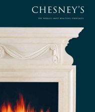 THE WORLD'S MOST BEAUTIFUL FIREPLACES - Chesney's
