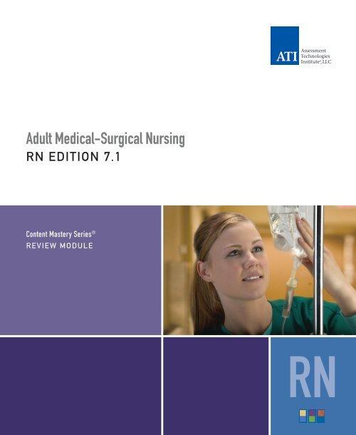 Adult Medical Surgical Nursing ATI Testing
