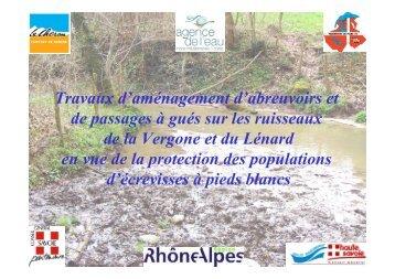LES DIFFERENTS SYSYTEMES D'ABREUVOIRS